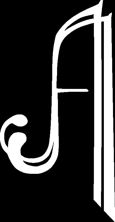 Auberge de l'Abbaye logo blanc